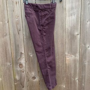 "J. Crew ""scout"" chinos, fabulous condition"